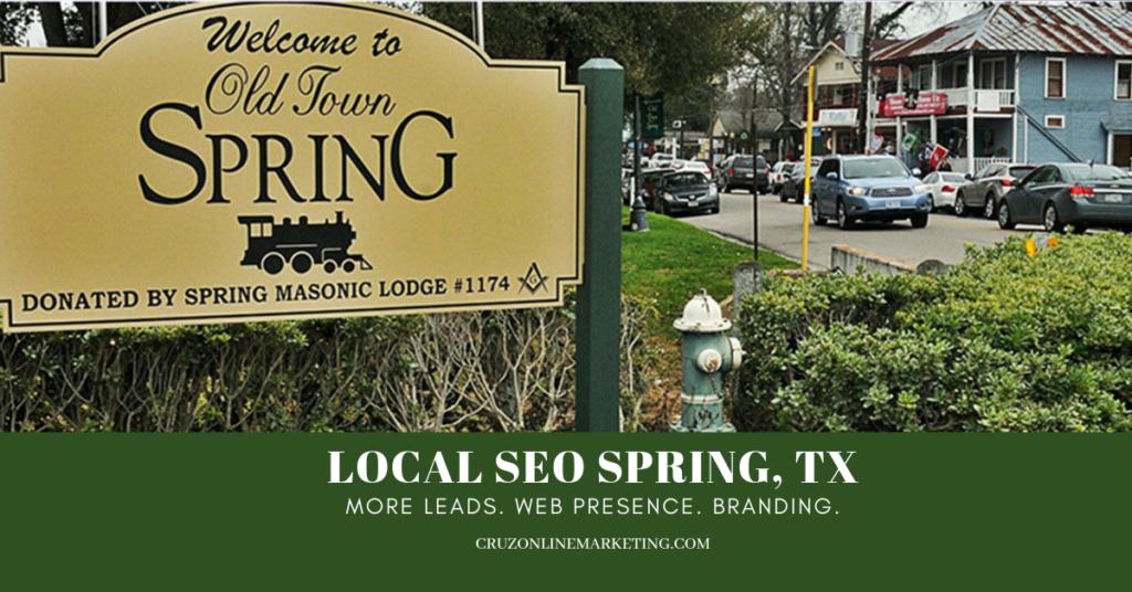 Local SEO Spring,Tx